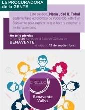 Photo of Podemos realizará un acto el próximo sábado en Benavente