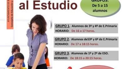 Photo of Inscripciones al aula de apoyo al estudio en el ayuntamiento de la Plaza del Grano de Benavente