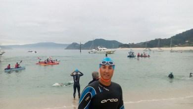 Photo of El benaventano Jesús Mario Hernández logra concluir el V desafío a nado de las Islas Cíes