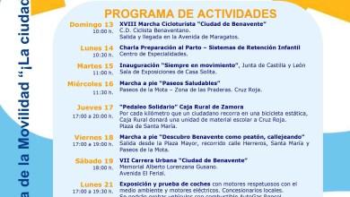 Photo of Programa de actividades de la semana de la movilidad – Benavente 2015