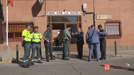 Visita subdelegado cuartel Benavente