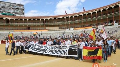 Photo of Entre cinco y ocho mil personas se manifestaron el pasado sábado a favor de los toros en Valladolid