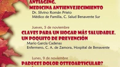 """Photo of La casa de cultura la encomienda acoge un año más las charlas """"otoño saludable"""""""