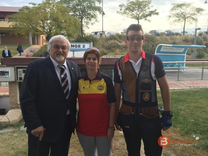 pte feder españ tiro olimp y coor y medalla plata olim atenas