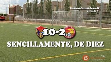 """Photo of Los juveniles del C.D Benavente de """"diez"""" ante el At. Pincia"""