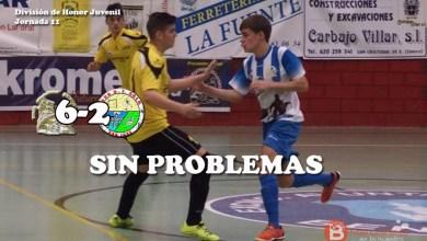 Photo of Ferretería La Fuente no se complica para golear al F.S San José