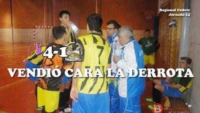 Photo of Derrota demasiado abultada para un A.H Carbajo Donado que rozó el empate