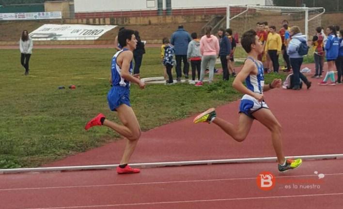 Atletismo Benavente - ISMAEL-PISTA 23-01-16