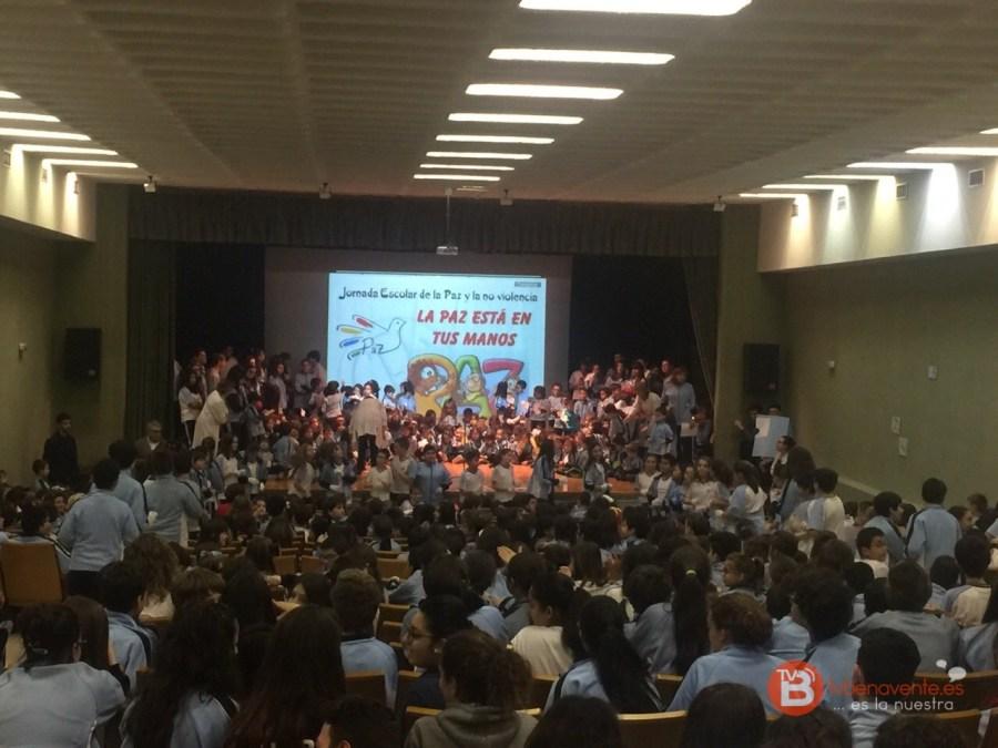 dia escolar de la paz y la noviolencia - colegio san vicente de paul - benavente
