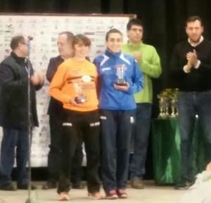 PODIUM MARTA-EL BOSCO 2016 - Benavente Atletismo