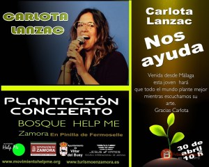 CARLOTA LANZAR - MOVIMIENTO HELP ME - ZAMORA