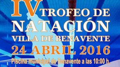 Photo of El CD Benavente Natación presenta la Cuarta Edición de su Trofeo