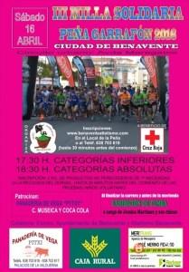 III Milla Solidaria Peña Garrafón 2016 Ciudad de Benavente