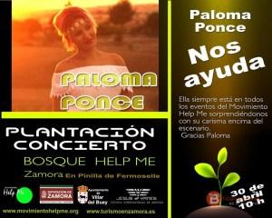 PALOMA PONCE - MOVIMIENTO HELP ME - ZAMORA