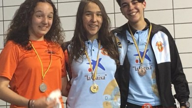 Photo of Oro, Plata y 2 Bronces para Carolina Ganado en el IV Open de Castilla y León