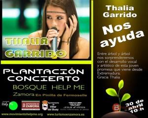 THALIA GARRIDO - MOVIMIENTO HELP ME - ZAMORA