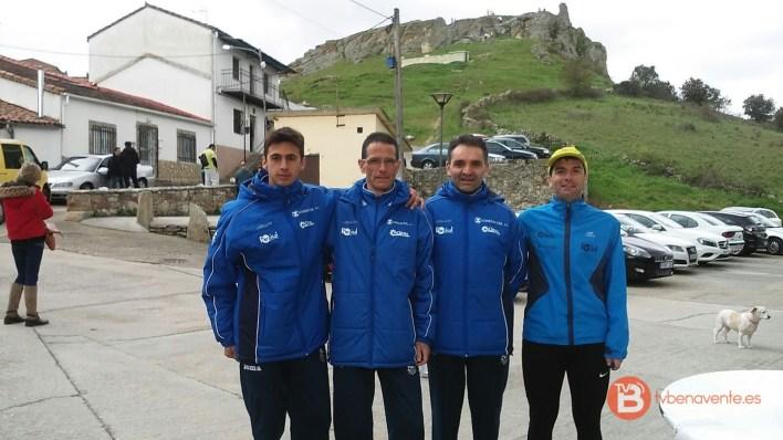 equipo en peñausende - benavente atletismo 2016