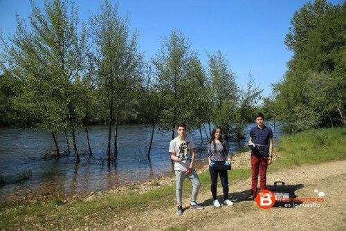 alumnos virgen de la vega río Tera