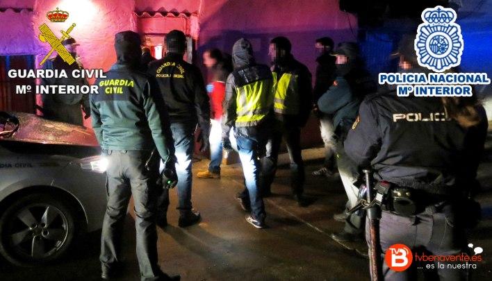Operacion green water - gruardia civil policia nacional de zamora 4
