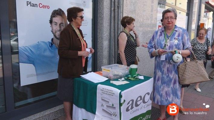 Cuestación AECC Benavente