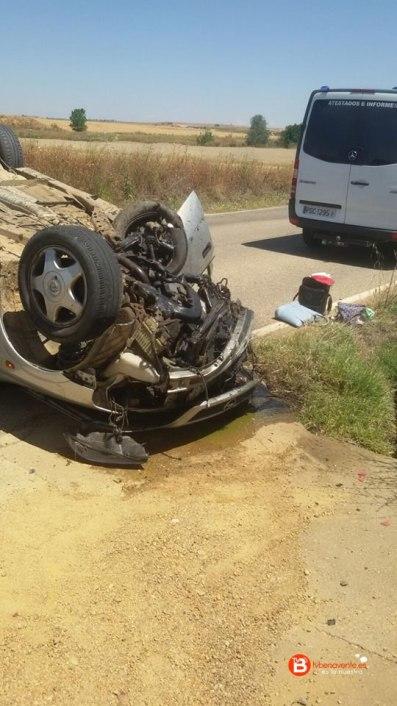 accidente de trafico benavente