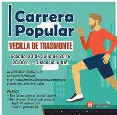 Cartel Carrera Vecilla Trasmonte