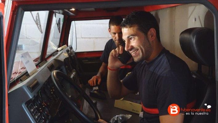 Cesion radio a bomberos Benavente