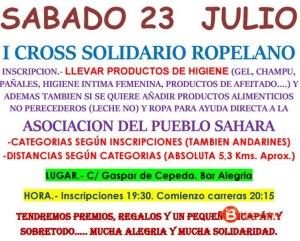 Carrera popular solidaria Fuentes de Ropel