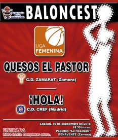 cartel-zamarat-vs-hola-baloncesto benavente 2016