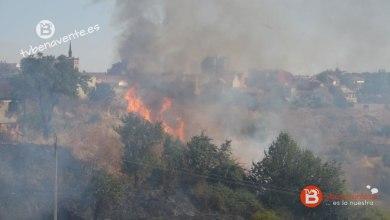 Photo of VIDEO: Incendio en el Barrio San Isidro de Benavente