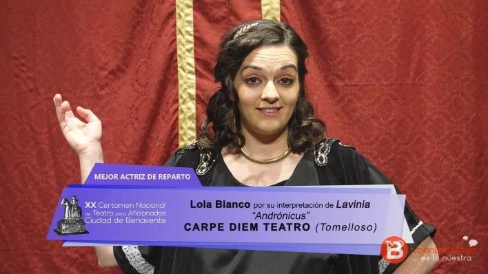 lola-blanco-mejor-actriz-principal-carpe-diem-teatro-2016-certamen-benavente