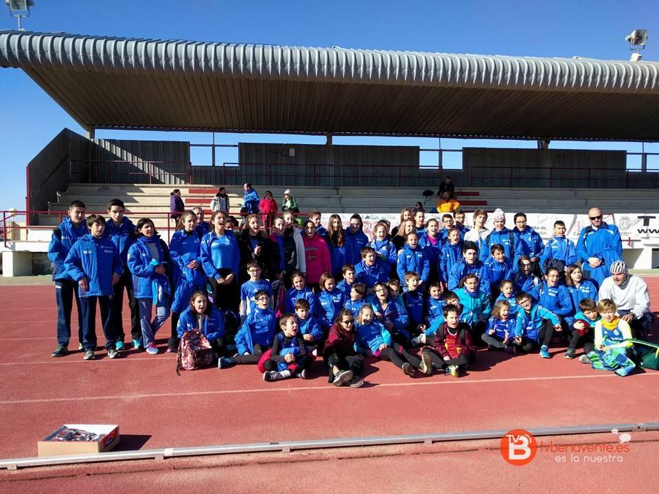 Pista y campo a través pruebas en las que ha participado el Club Benavente Atletismo