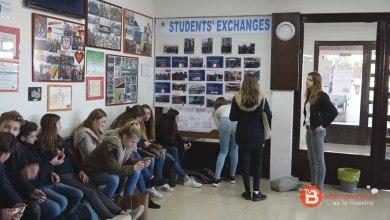 Photo of Un grupo de 22 holandeses de intercambio visitan Benavente