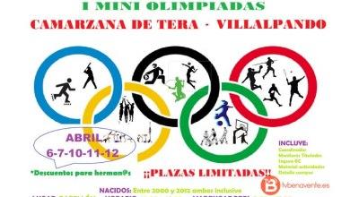 Photo of Camarzana de Tera y Villalpando celebrarán sus I Mini Olimpiada en Semana Santa