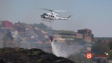 """Photo of Gran incendio en los cuestos de """"Las Dibujas"""" en el Barrio San Isidro"""