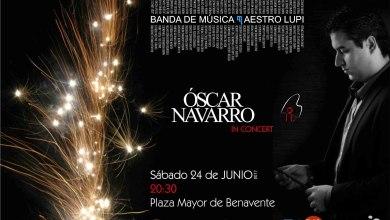 Photo of La Banda Maestro Lupi contará con la presencia de Óscar Navarro