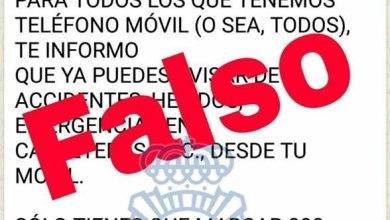 Photo of La Policía Nacional avisa de un mensaje falso del teléfono de emergencias