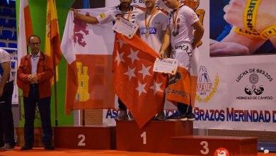 Photo of Noé Feliz proclamado subcampeón de España con el brazo izquierdo