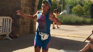 Photo of Pepa García se alza con la victoria en el Triatlón Cross Piña de Campos