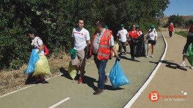 Photo of Cruz Roja Benavente ha recogido un total de 21,7 kilos de basura