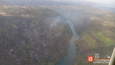 Photo of El incendio de Fermoselle desciende al nivel 1 aunque sigue activo