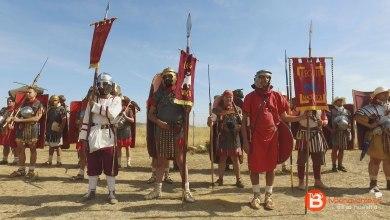 Photo of VIDEO: Recreación histórica en el Campamento Romano de Petavonium