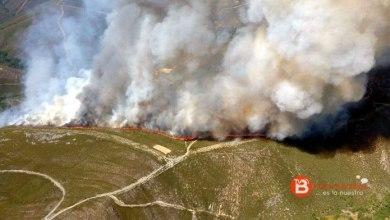 Photo of Un nuevo fuego afecta a la Alta Sanabria en el municipio de Hermisende