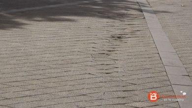 Photo of El suelo de los paseos de La Mota muestra nuevos hundimientos