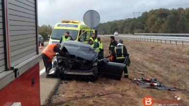 Photo of Dos heridos, uno de ellos grave, en un accidente en Palacios de Sanabria