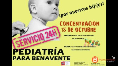 Photo of Concentración por un servicio de pediatría 24 horas en Benavente