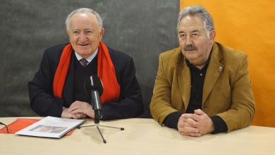 Photo of Conferencia de Xesús Alonso sobre la vida de Antonio Machado
