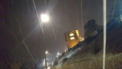 Photo of Comienza a caer la nieve en Benavente con previsiones de más