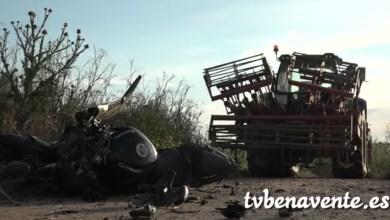 Photo of Joven motorista fallecido al chocar con un tractor en Zamora