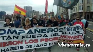 Photo of Manifestaciones de Jusapol en Gijón y Benidorm